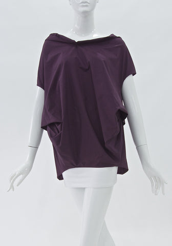 Marni Asymmetrical Cotton Top (Size S)