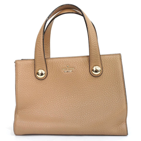 Kate Spade Brown Leather Small Tote Bag