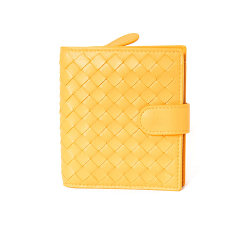 Bottega Veneta Yellow Wallet