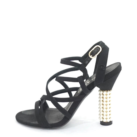 Chanel Strappy Sandals 36.5