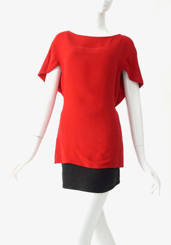 Valentino Red Blouse 2