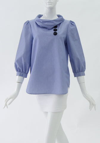 Tibi Light blue cotton Top  (Size S)