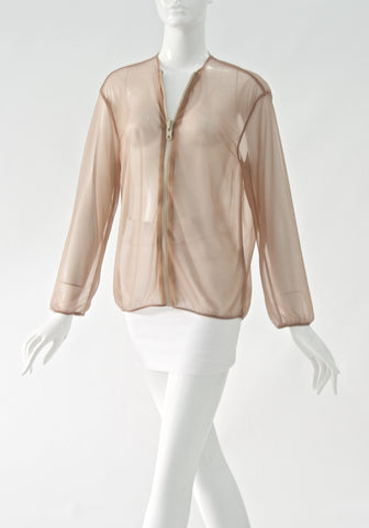 ACNE Sheer Pink Cardigan (size S)