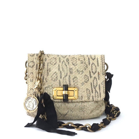 Lanvin Python Cross Body Bag