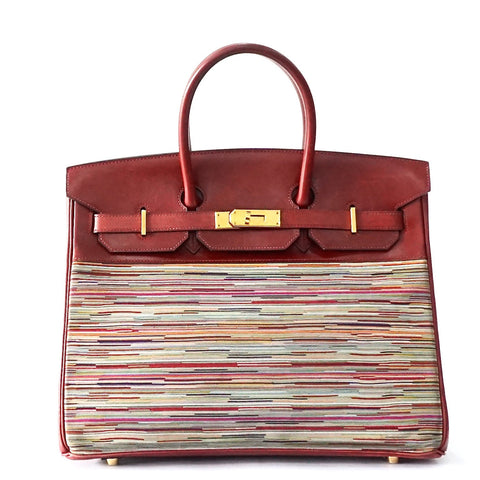Hermes Birkin 35 Rouge H Boxcalf Vibrato GHW
