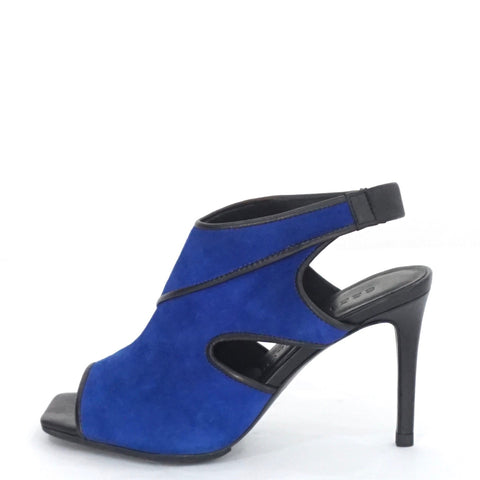 See by Chloe Blue Suede Cut-out Heels 36.5