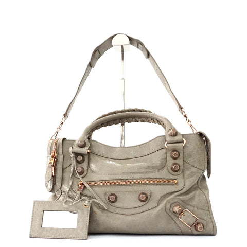 Balenciaga Taupe City Bag