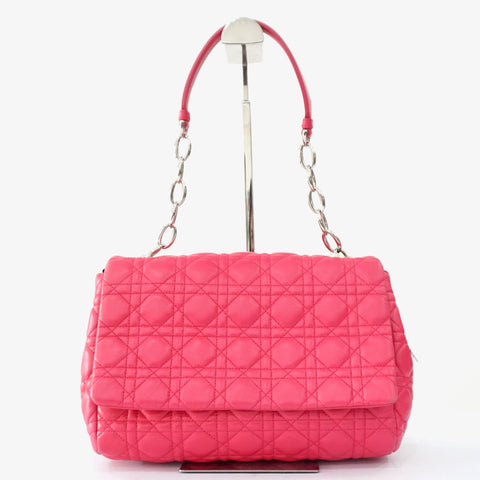 Dior Fuschia Cannage Bag
