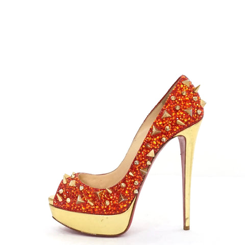 Christian Louboutin Very Mix 150 Pot Pourri Red and Gold 39