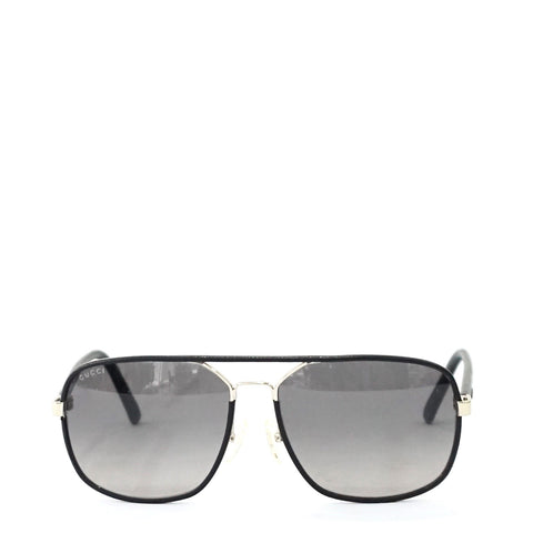 Gucci Black Frame Sunglasses