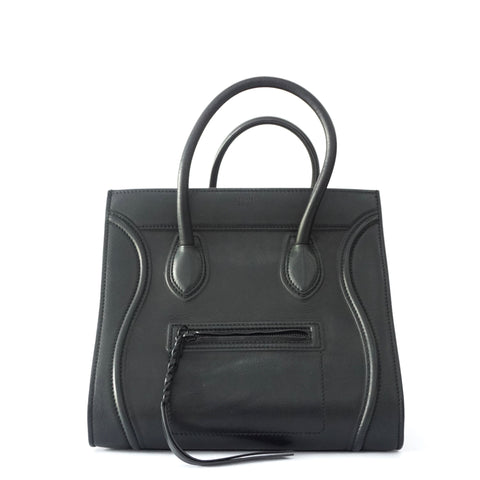 Celine Black Luggage Medium