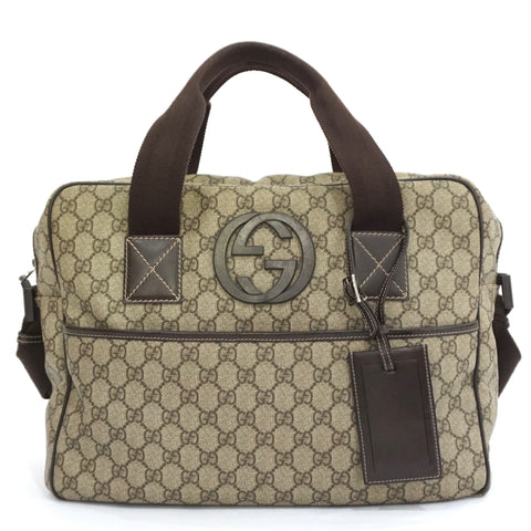 Gucci GG Plus Monogram Brief Travel Bag