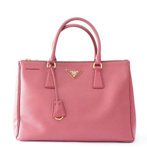 Prada Saffiano Double Zippper Tote Bag