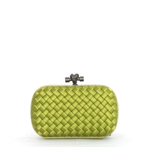 Bottega Veneta Green Clutch
