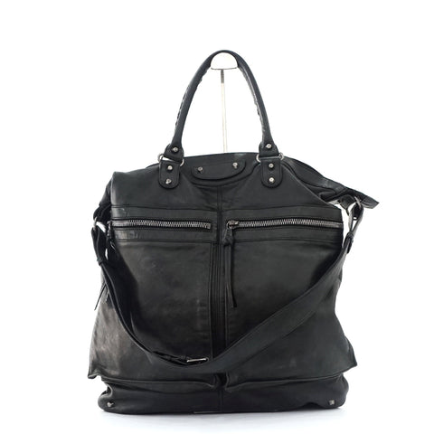Balenciaga Men's Black Day Bag