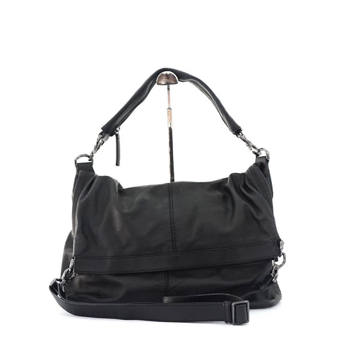 Givenchy Black Leather Mens Shoulder Bag