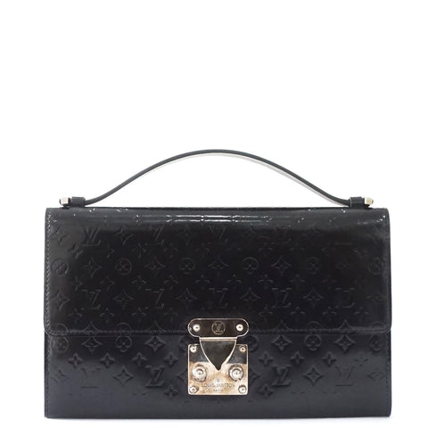 Louis Vuitton Black Vernis Pochette
