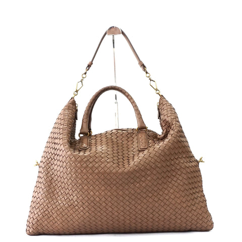 Bottega Veneta Ash Woven Convertible Large Tote Bag