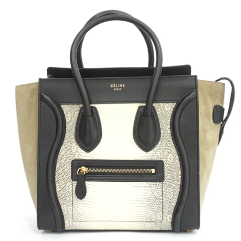 Celine Lizard Micro Luggage Bag