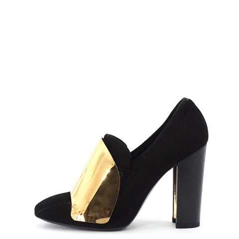 YSL Black Suede Pump Soes 36.5