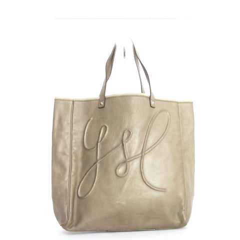 YSL Grey Tote Bag