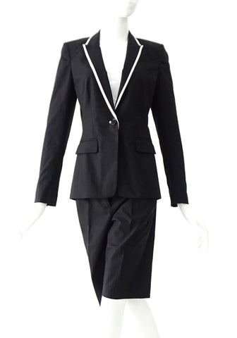 Armani Exchange Black Suit Blazer 2 with Short 4