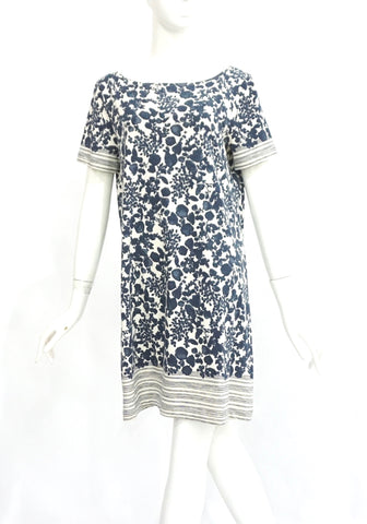 Tory Burch Floral Cotton Dress M