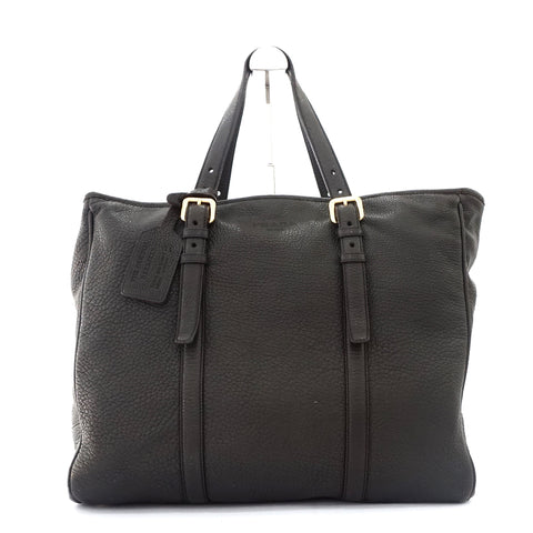 Prada Brown Deer Skin Mens Tote Bag