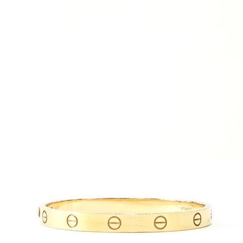 Cartier Gold Love Bracelets