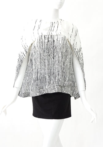 Balenciaga Black and White Top 38