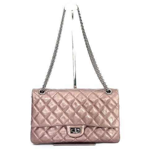 Chanel Reissue Metallic Rose