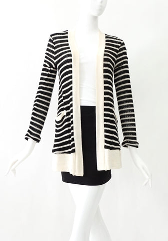 Splendid Black and White Cardigans XS