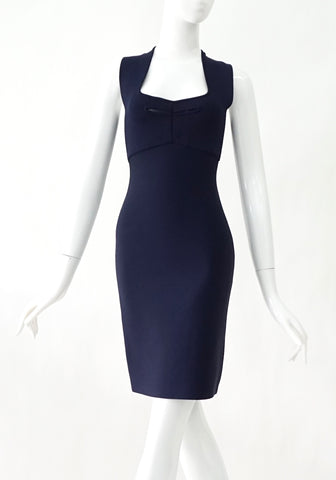 Roland Mouret Navy Blue Coctail Dress US4