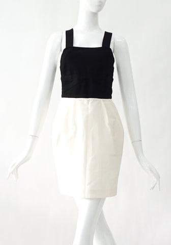 Alice and Olivia Black and White Dress XS