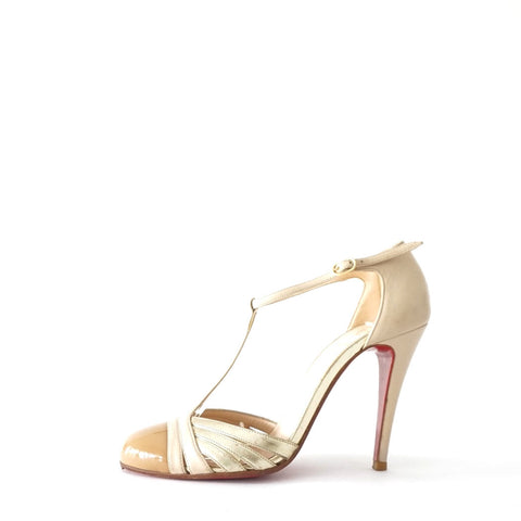 Christian Louboutin Beige Shoes 35.5