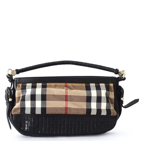 Burberry Chekers Black Handbag