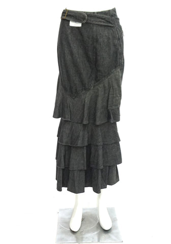 Moschino Gray Denim Skirt 38