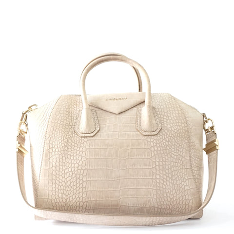 Givenchy Antigona Croco Embossed