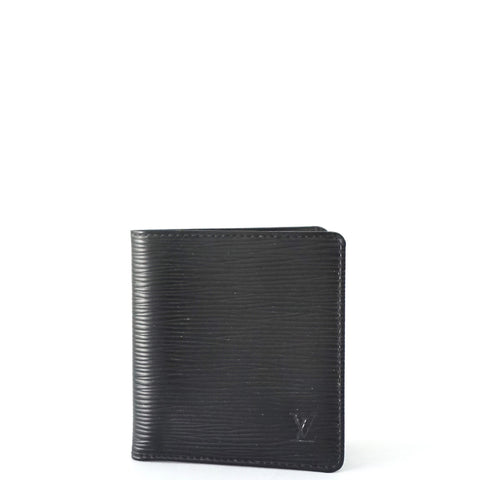 Louis Vuitton Epi Black Mens Wallet