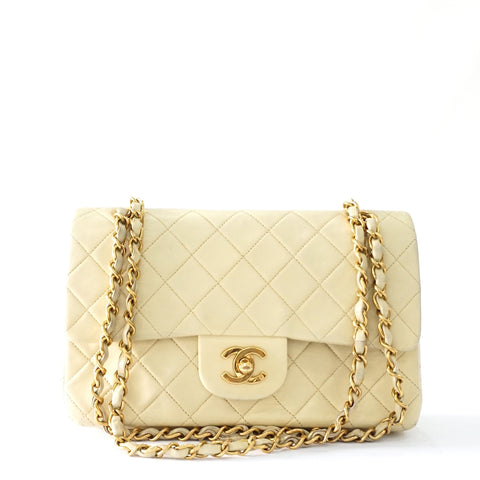 Chanel Beige Vintage Flap Bag