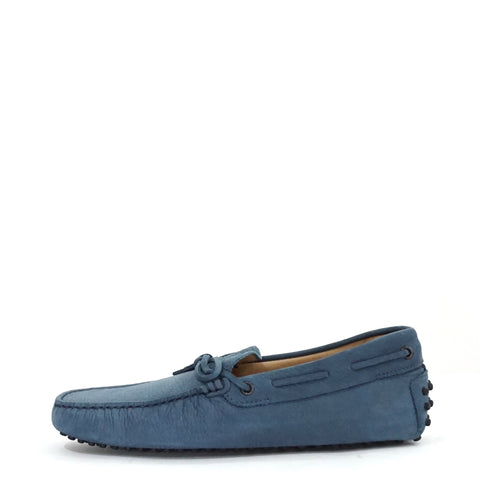 Tods Blue Suede Loafers 6