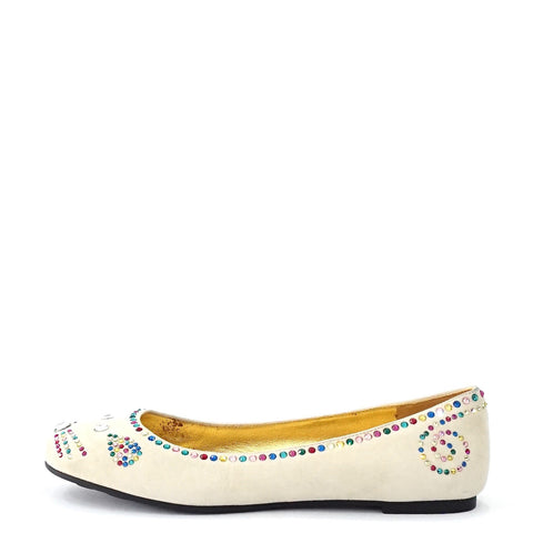 Marc by Marc Jacobs Beige Mouse Ballet Flats 36.5