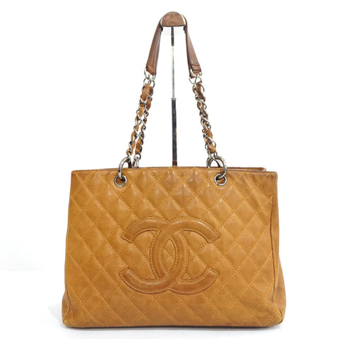 Chanel Brown Lambskin GST Bag