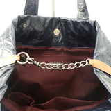 Chanel Navy Tote Bag