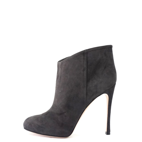 Gianvito Rossi Grey Suede Ankle Boots 39