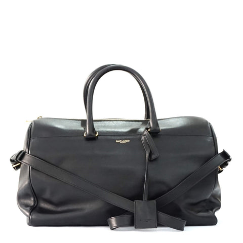 Saint Laurent Black Bowling Bag