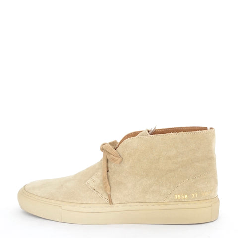Common Project Suede Chukka Boots Sand 37