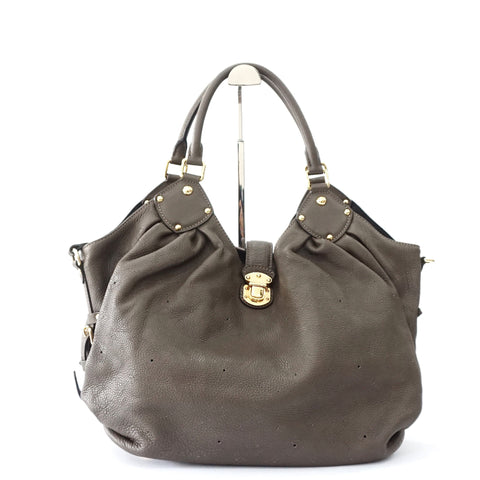Louis Vuitton Brown Mahina Hobo Bag