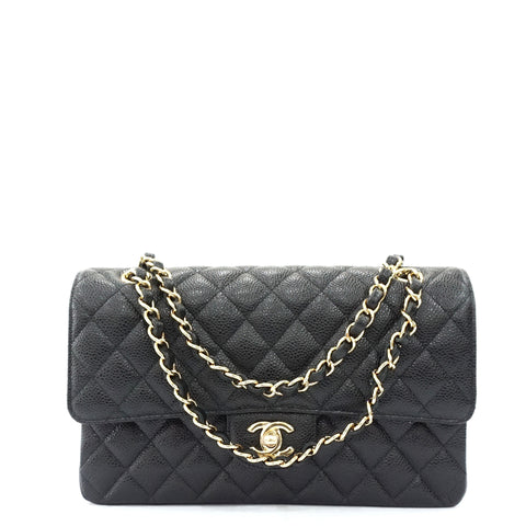 Brand New Chanel Black Caviar Flapbag GHW