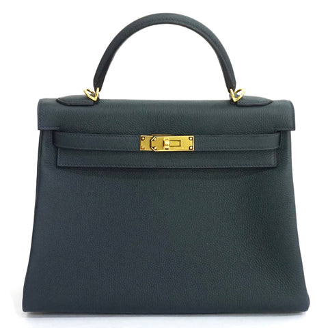 Hermes Kelly 32 Rousseau Togo GHW PRICE BY REQUEST